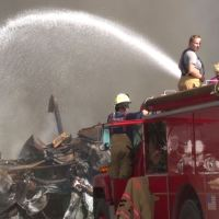 Wood County reimbursed for Parkersburg warehouse fire.