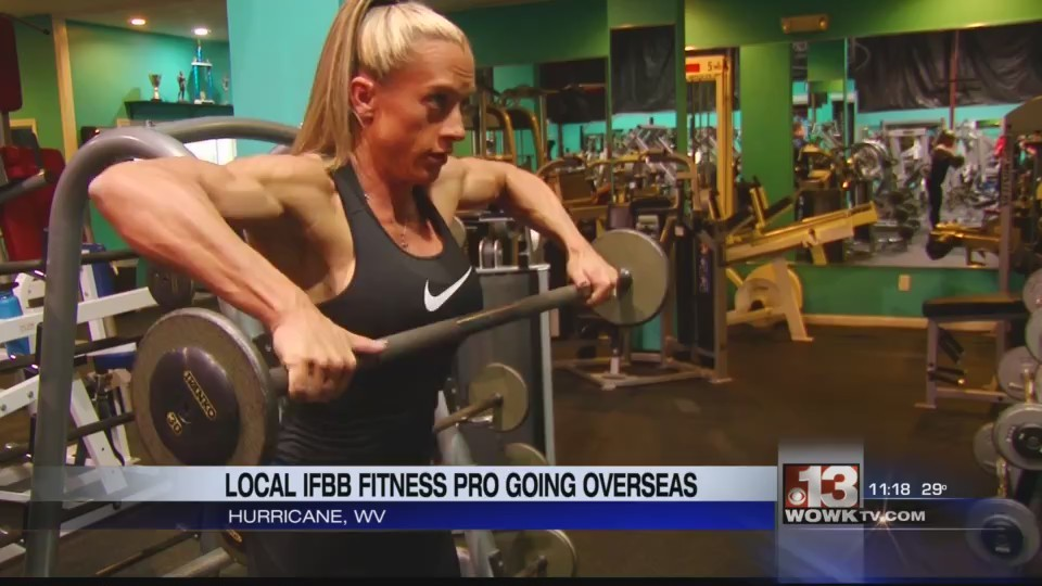 Local IFBB Fitness Pro Heading Down Under