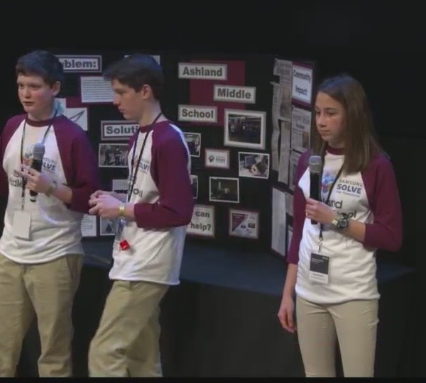 "Ashland students win national ""Solve for Tomorrow"" competition"