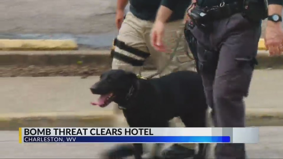 Bomb Threat Clears Hotel