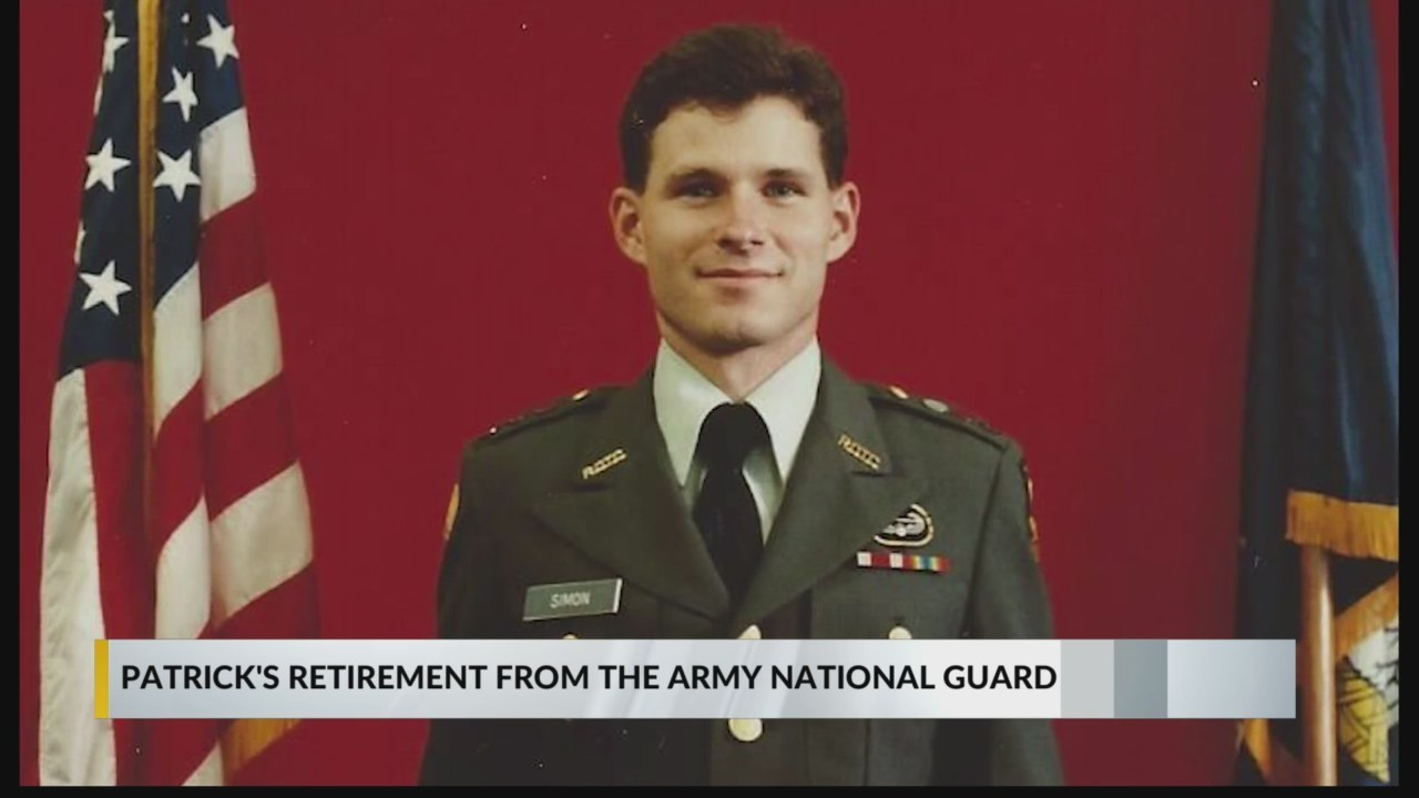 Congratulations to Patrick Simon on his retirement from the Army National Guard!