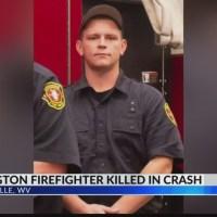 Huntington Firefighter Dies After Crash