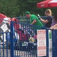 Camden Park employee trapped, sent to hospital