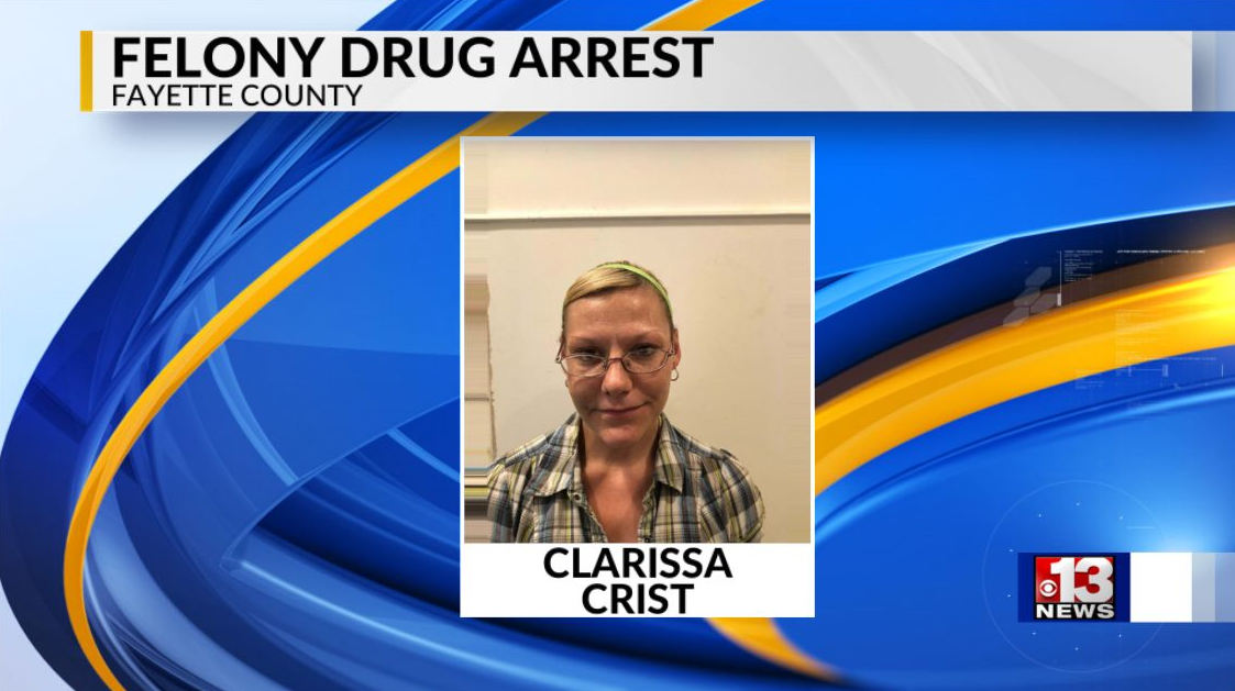 Fayette County woman arrested on felony drug charges