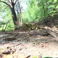 Landslide Closes Roadway in Kanawha County