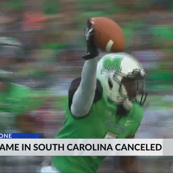 Marshall's Road Game Against South Carolina Canceled