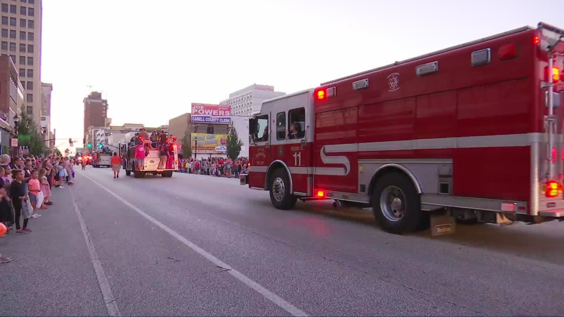 """Huntington Fire Prevention Parade encourages """"Look, Listen, Learn"""""""
