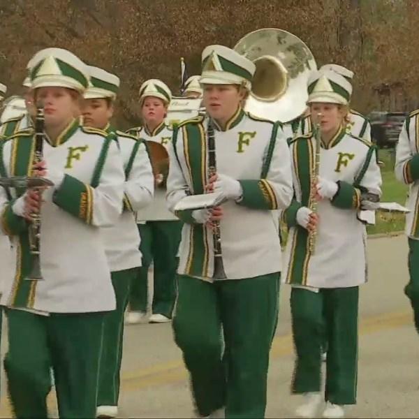 Huntington Holds Parade to Honor Veterans