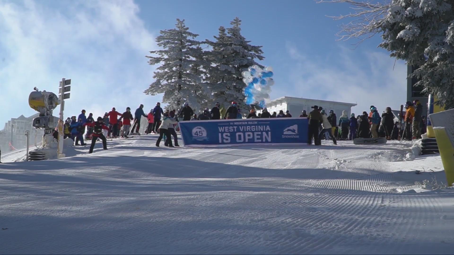 It's Officially Ski Season in West Virginia - Snowshoe is Open!