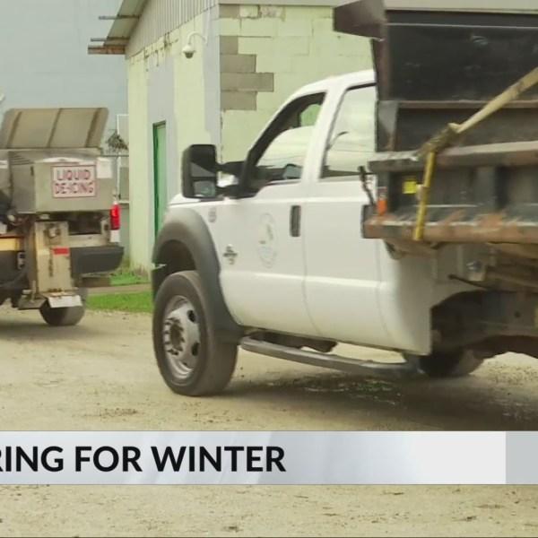 Street Department Prepares for Winter Weather