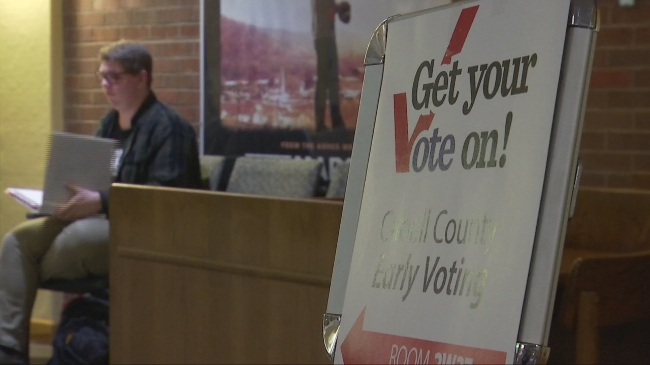 Young voter turnout more than doubles in Cabell County