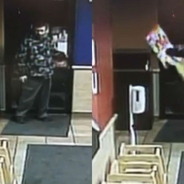 Suspect sought in donation bin theft from St. Albans restaurant