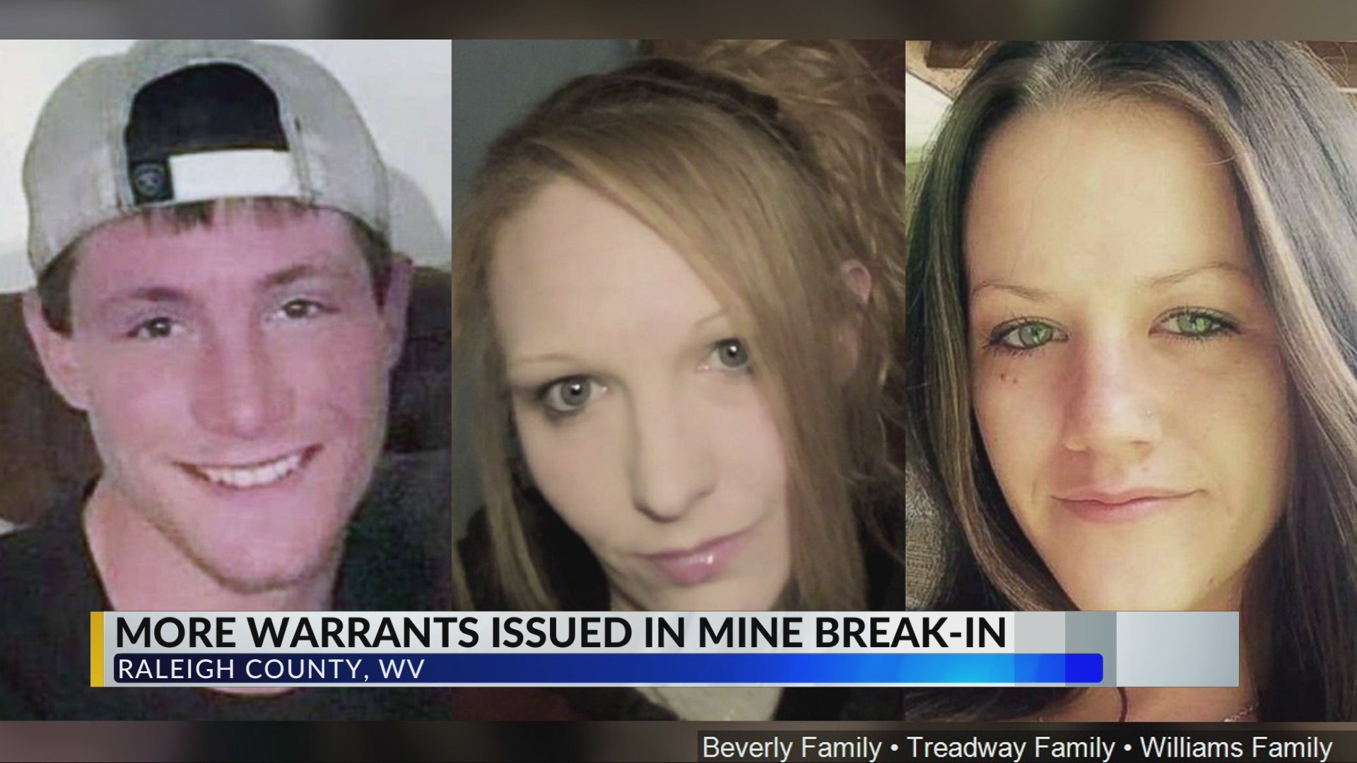 3 More Warrants Issued in Raleigh County Mine Break-In