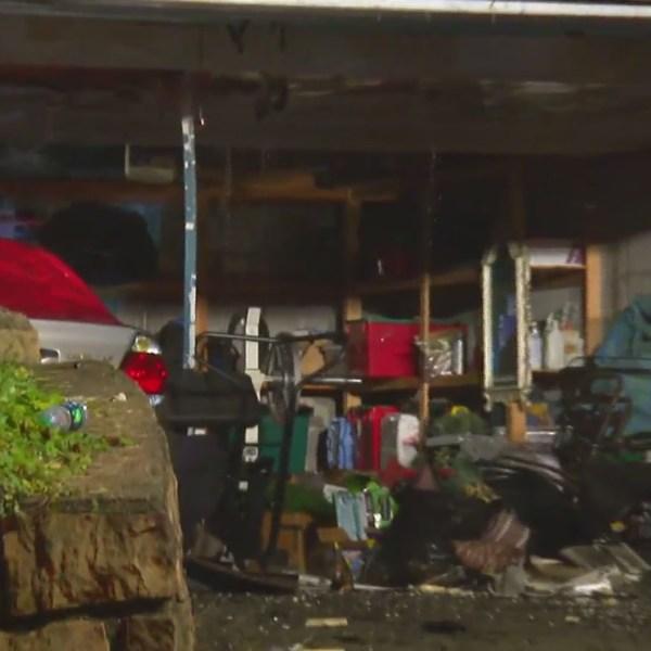 Charleston Fire Department battles overnight flames