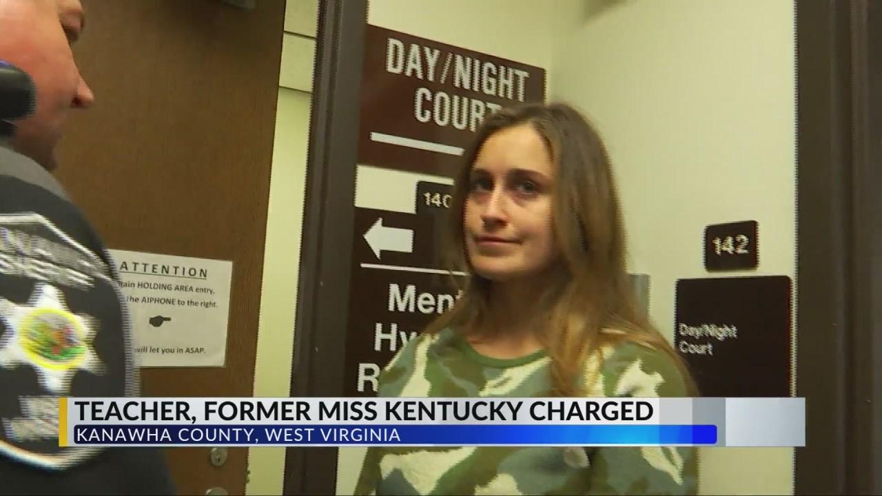 Former Miss Kentucky, teacher arrested for sending naked