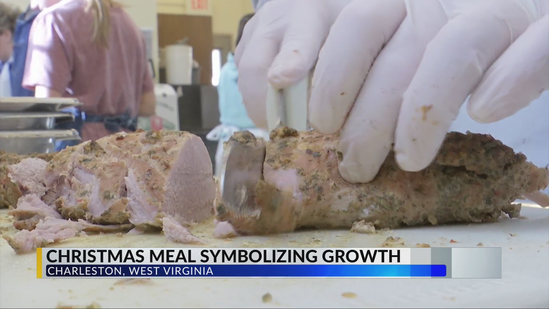 Local non-profit serves Christmas Day meal symbolizing growth