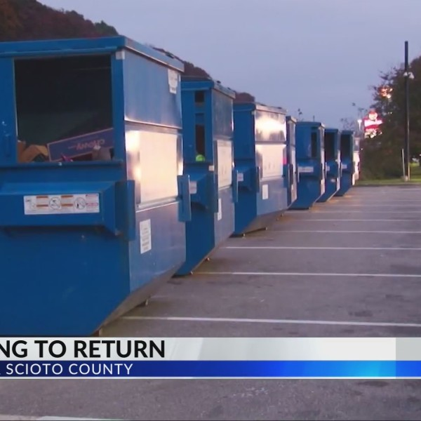 Recycling in Lawrence and Scioto counties to resume in January