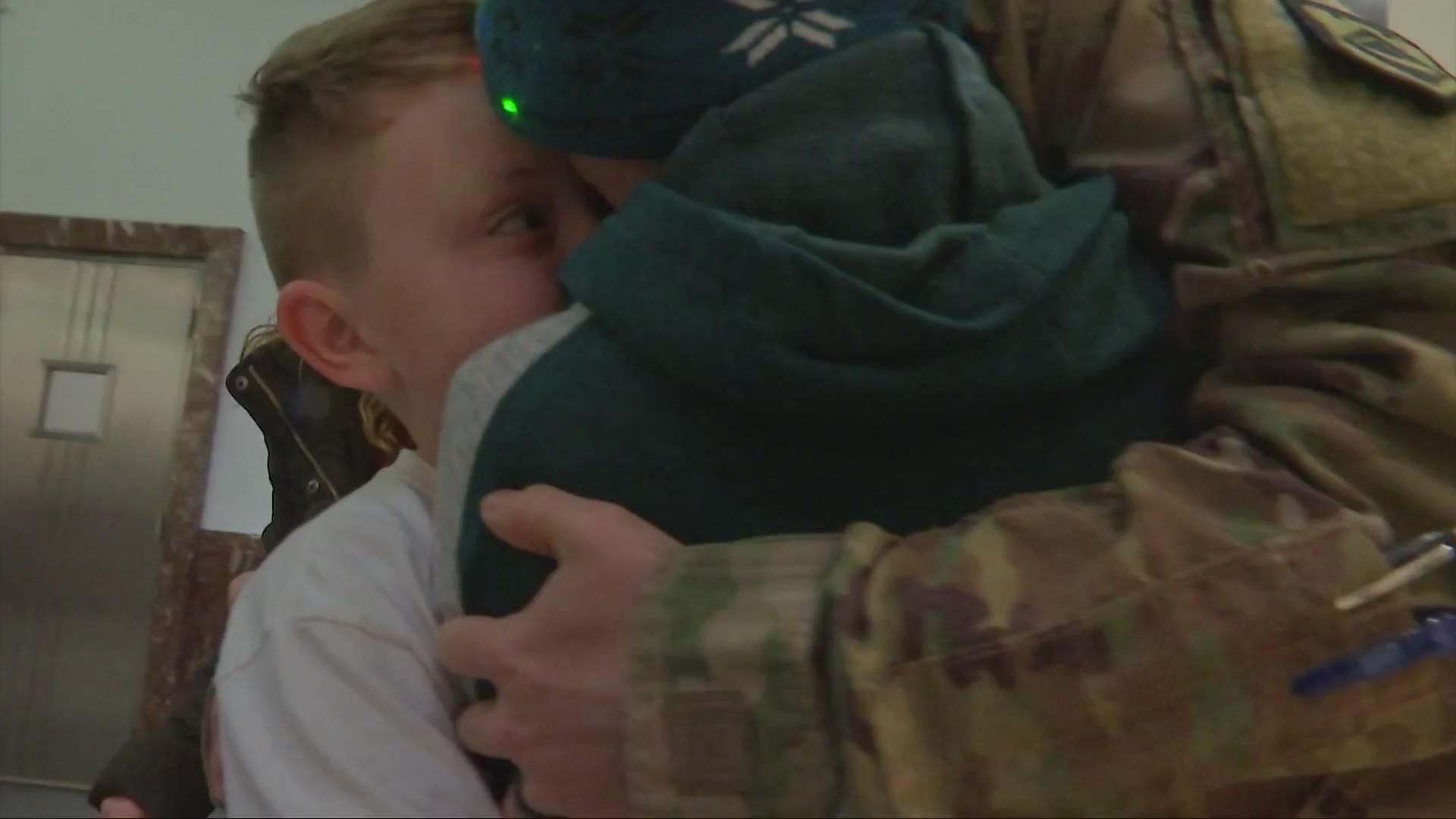 13 News Helps Hometown Hero Surprise Sons