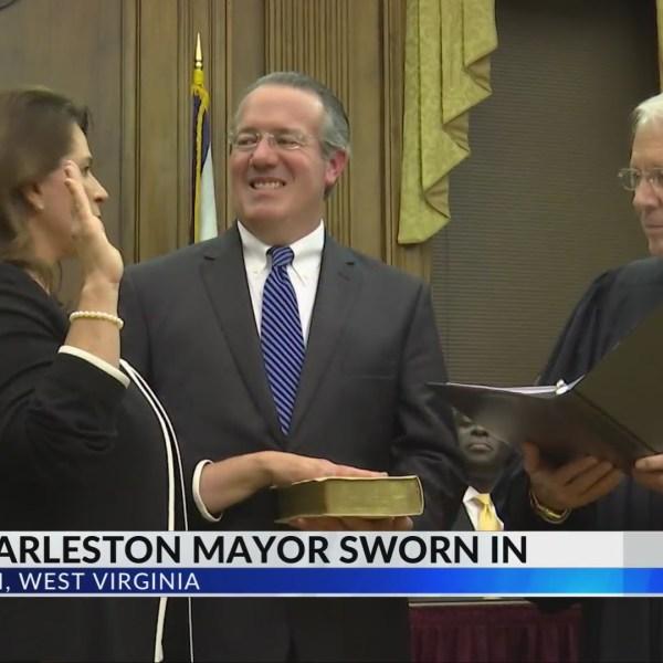 Goodwin Sworn in As Charleston's First Female Mayor