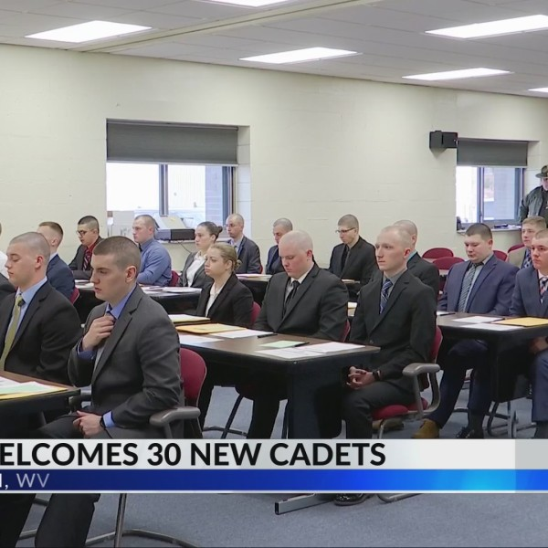 West Virginia State Police Welcome New Cadet Class