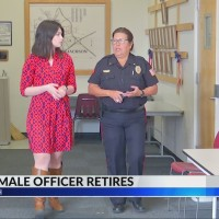 First Female Police Officer Retires in Jackson, Ohio