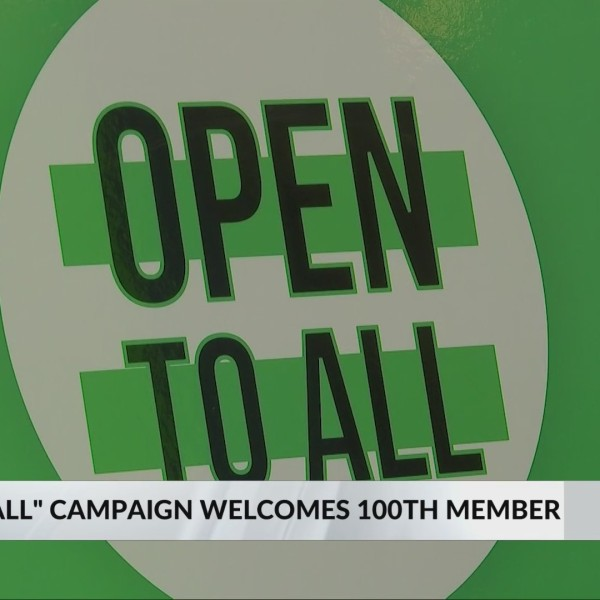 Huntington welcomes 100th 'Open to All' business