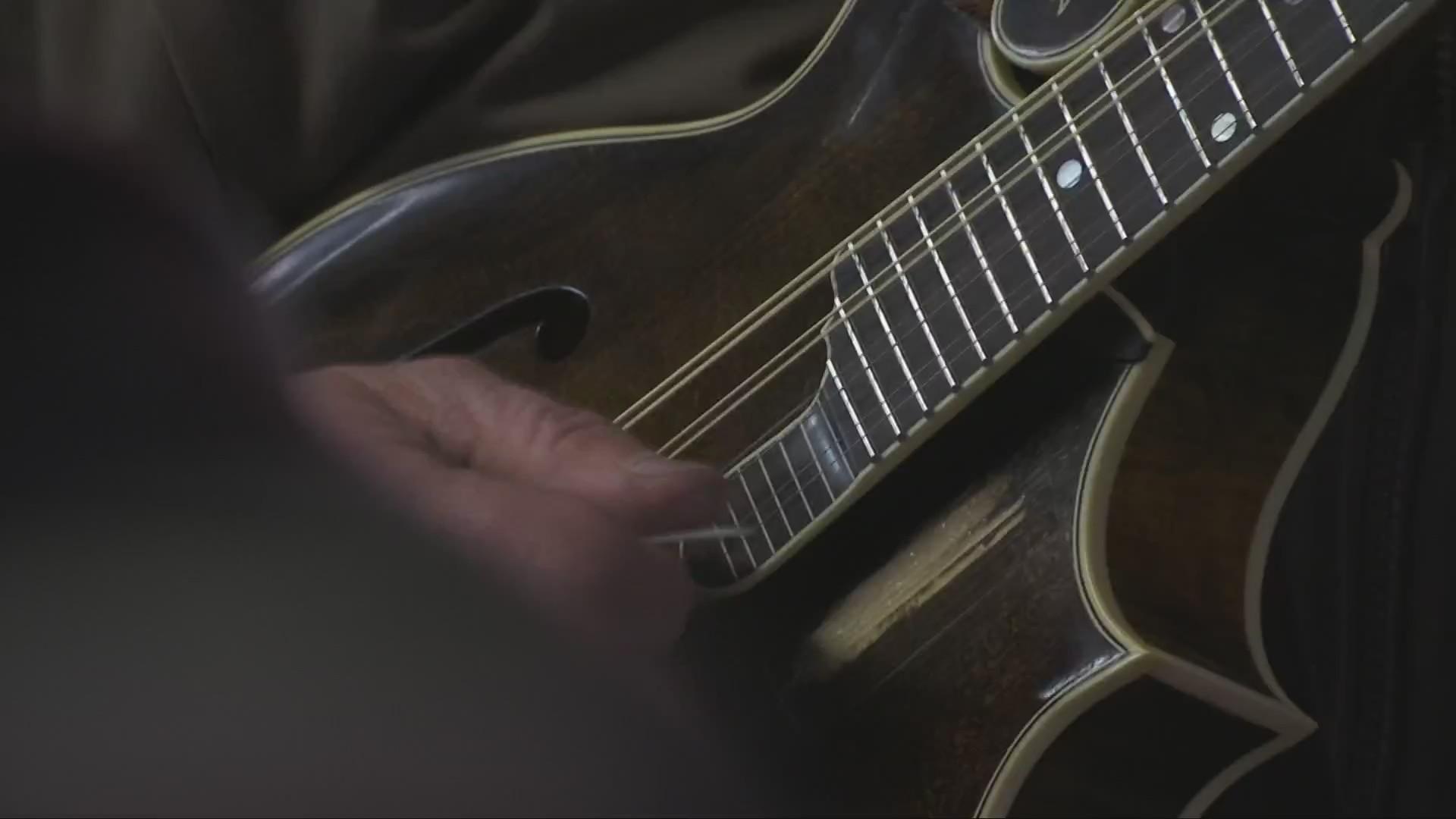 The Mandolin UPS Man