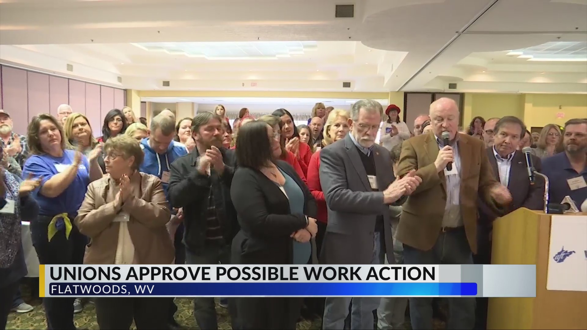 WV Unions Approve Possible Work Action