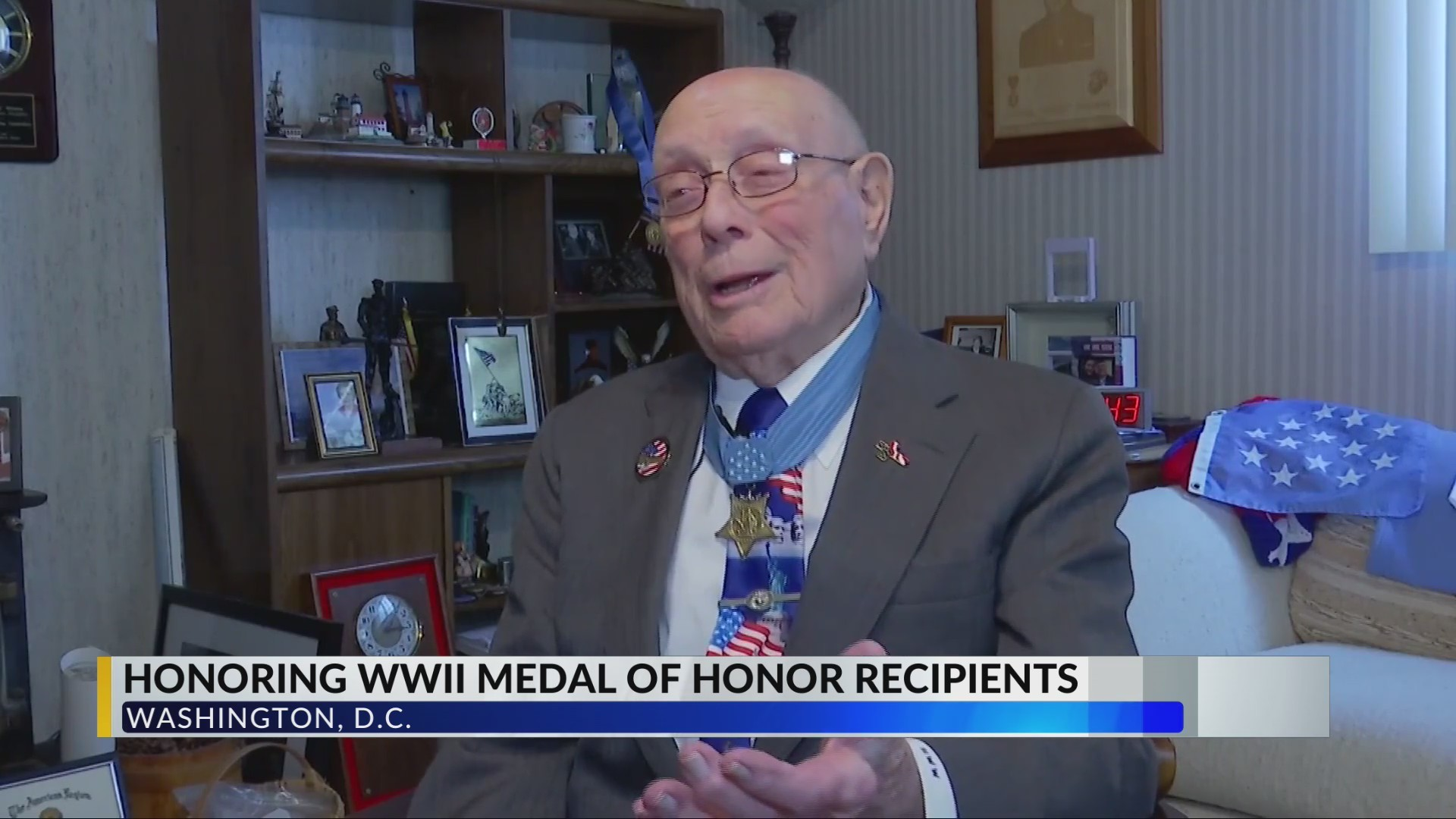 Bill Aims to Honor Last Living WWII Medal of Honor Recipient