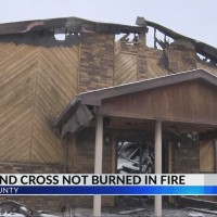 Fire Destroys Raleigh County Church, Bibles & Cross Found Untouched