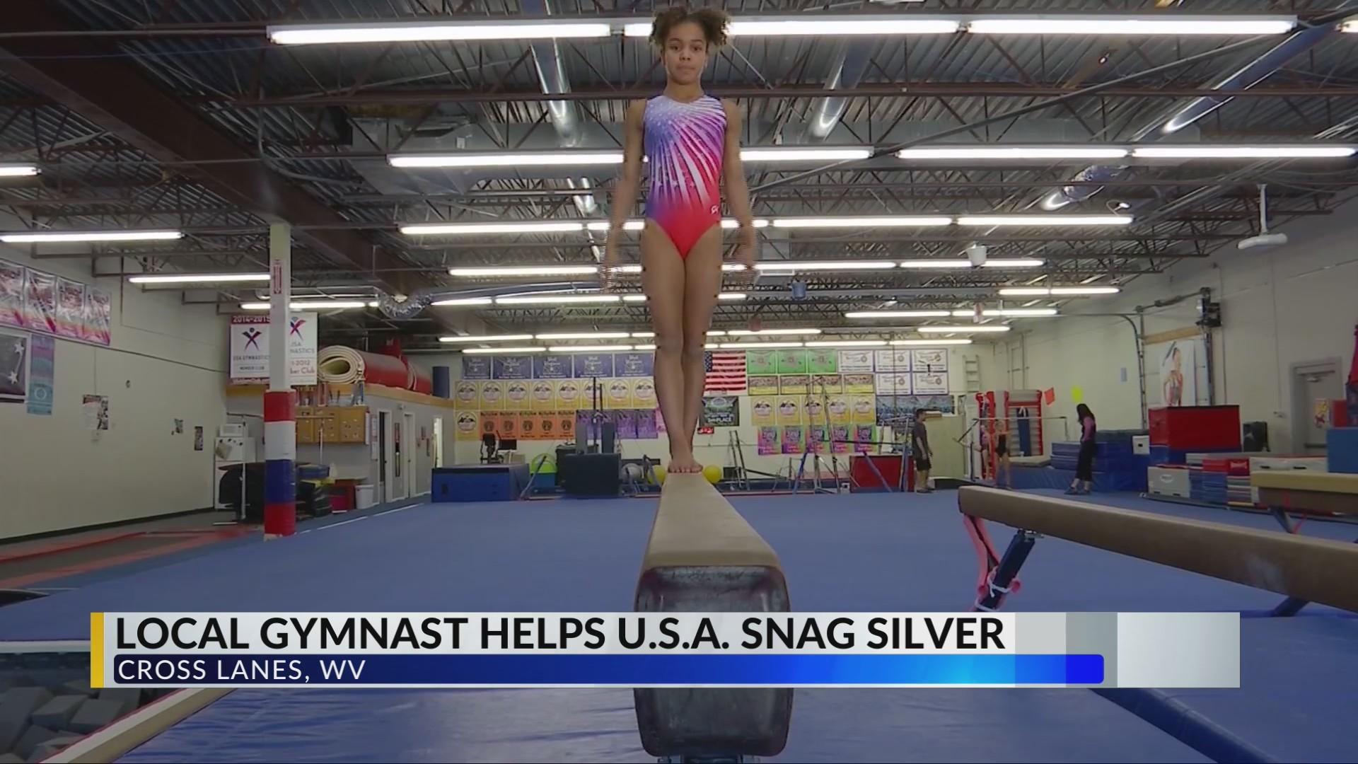 Local Gymnast Helps Team U.S.A. Snag Silver