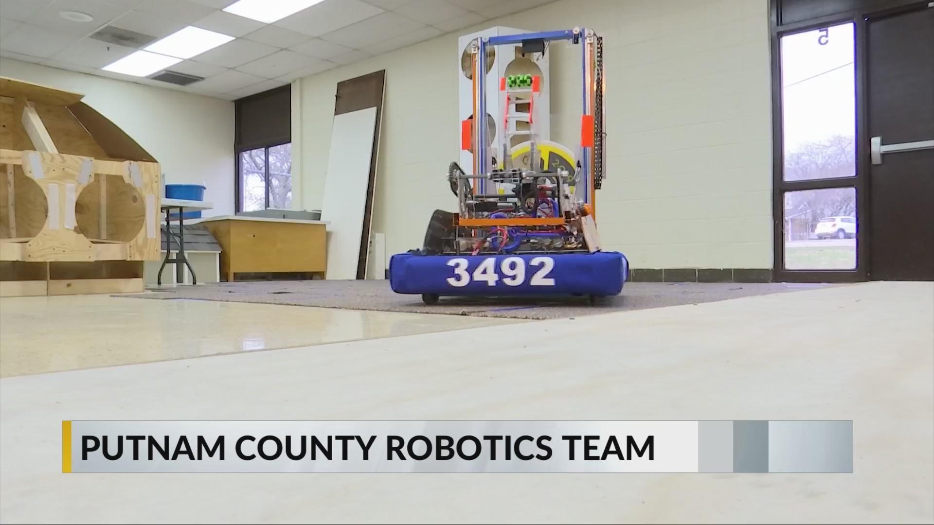 Putnam County Robotics Team Preps for World Competition