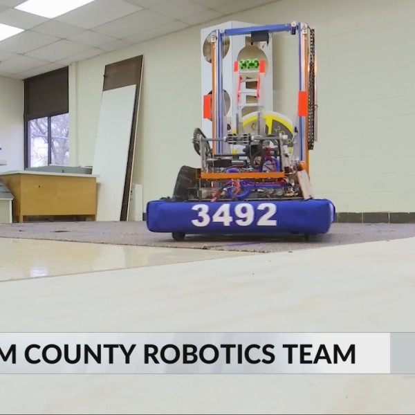 Putnam County Robotics Team Preps for World Competition