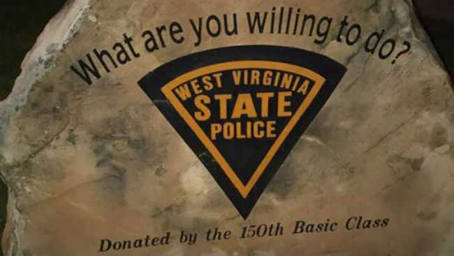 WV State Police Sign