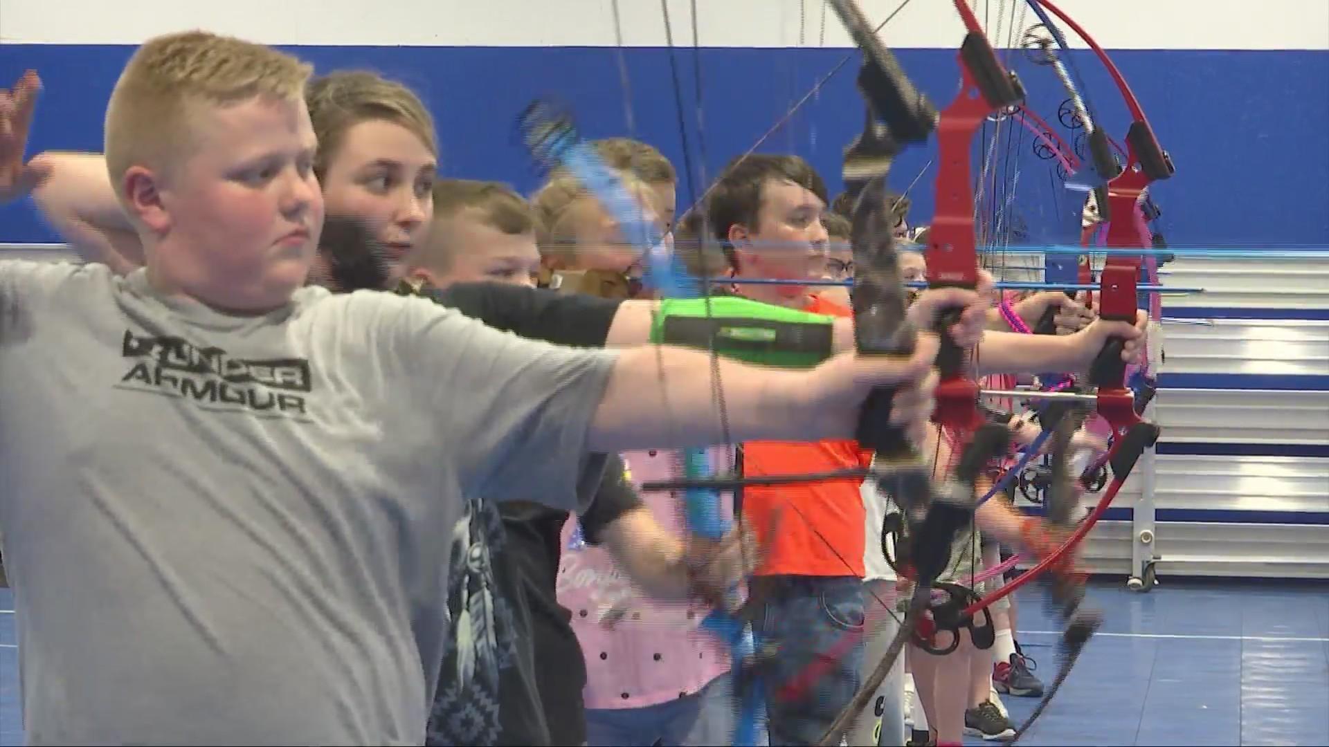 Kanawha County Archery Team Shoots for the Stars