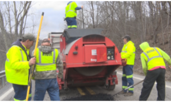 Road repair updates for District 1