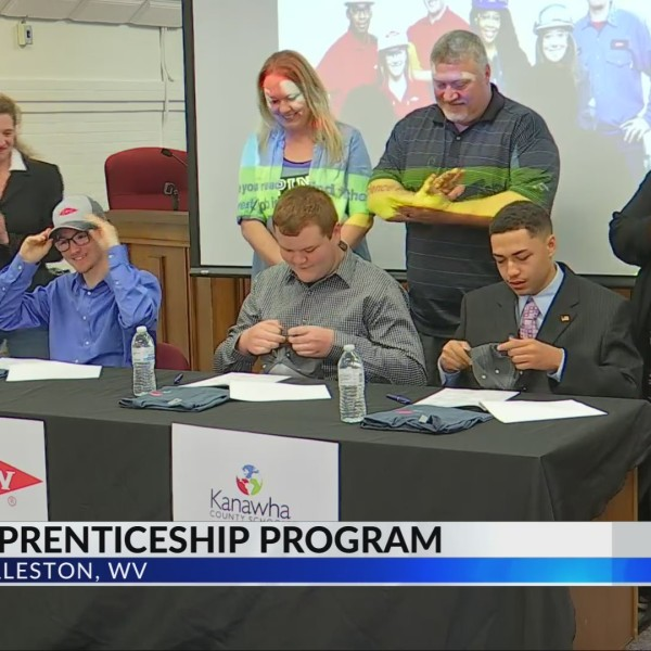 3 Kanawha County Students Sign for Dow Process Technology Apprenticeship
