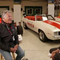 Sitting down with Mario Andretti