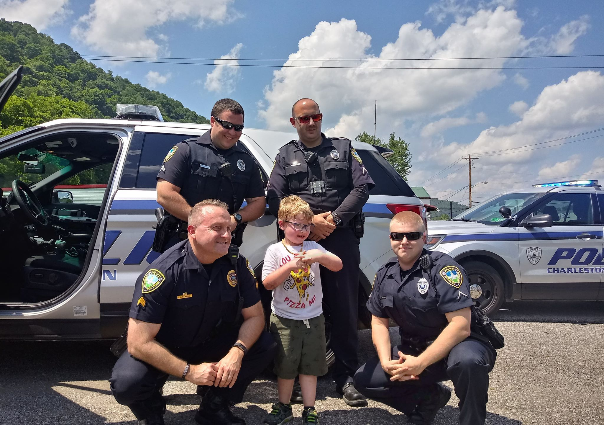 Charleston Police save 5-year-olds birthday party