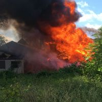 Abandoned Church Catches Fire in Kanawha County