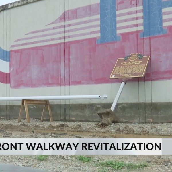 Ironton revitalizing river front with walking and biking trail