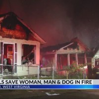 Teen Girls Save Woman, Man and Dog in Charleston Fire