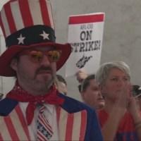 West Virginia Teachers React to Anti-Strike Provision