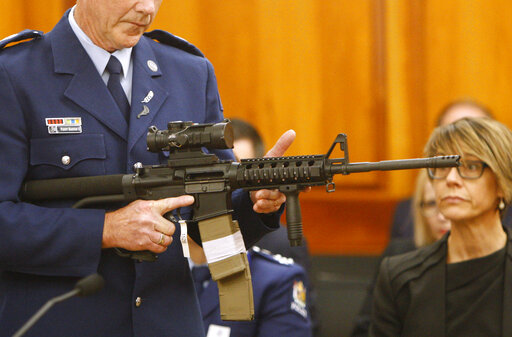 New Zealand gun owners turn over their weapons for money – WOWK 13 News
