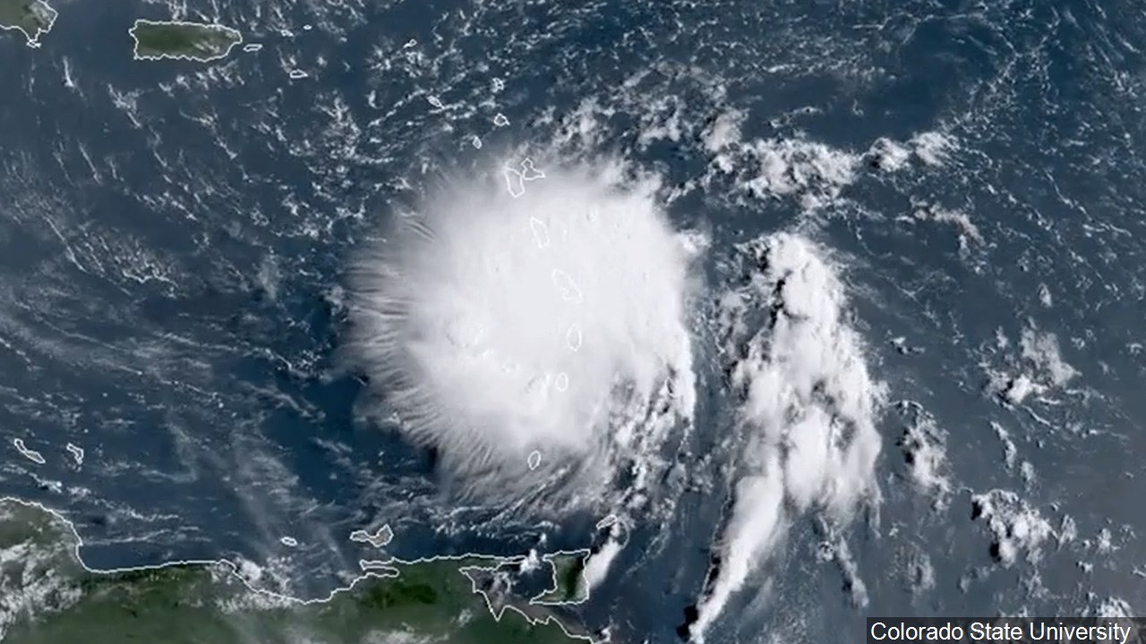 Dorian becomes hurricane near Virgin Islands | WOWK 13 News