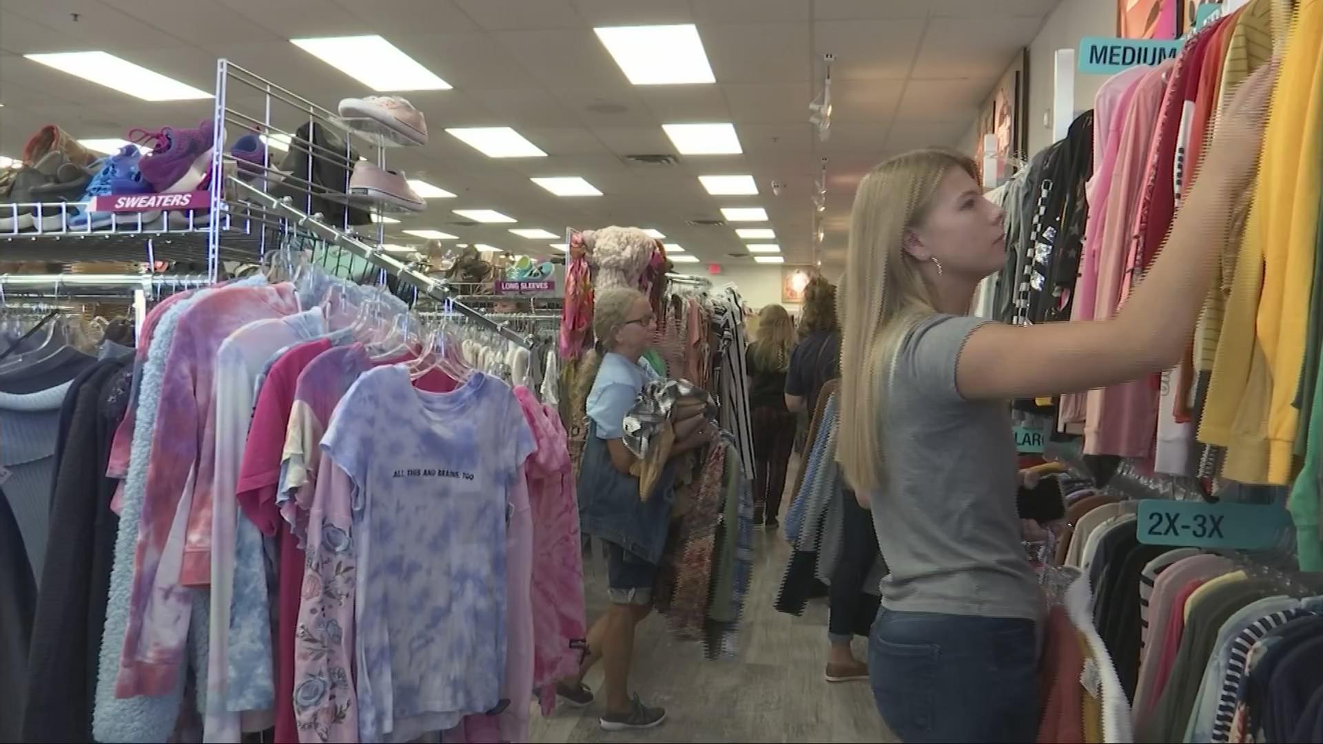 Plato S Closet Opens In South Charleston Wowk 13 News