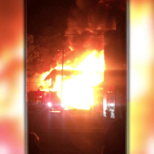 Whitesville Arson
