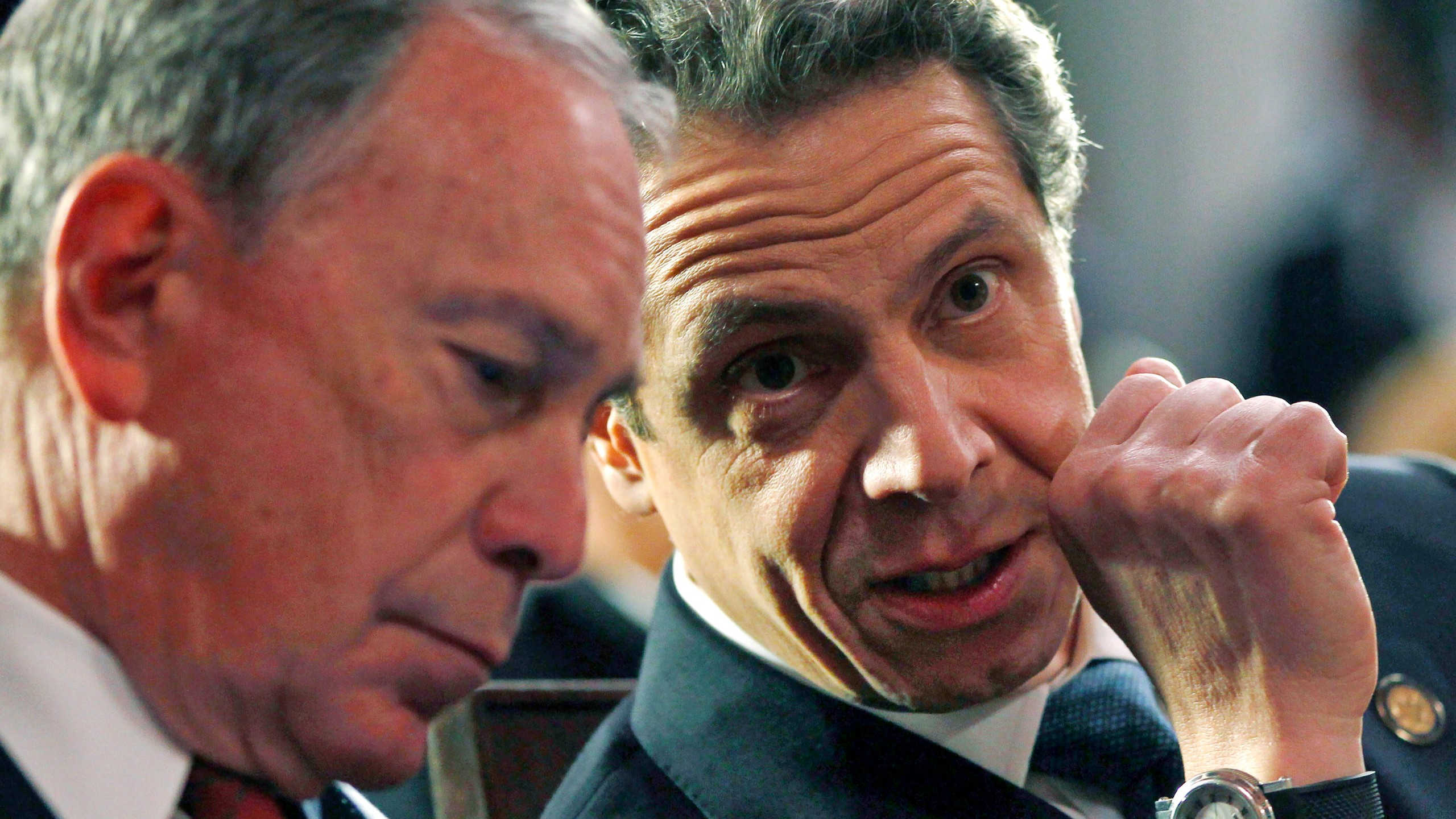 Michael Bloomberg, Andrew Cuomo