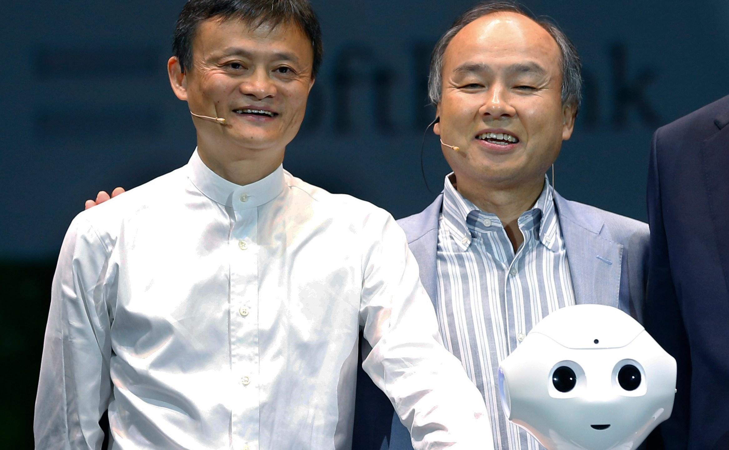 Masayoshi Son, Jack Ma, Terry Gou