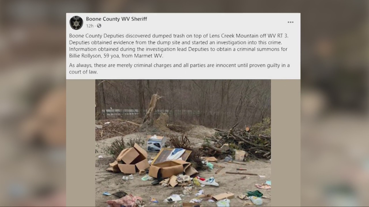 Trash piling up in Boone County